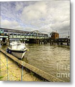 Reedham Swing Bridge  Metal Print