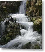 Reeds Springs Falls Metal Print