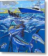 Reef Sail Off00151 Metal Print