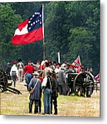 Reenactment - 566 Metal Print