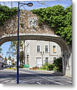 Referendum Gate In Gibraltar Metal Print