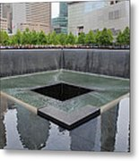 Reflect And Remember Metal Print