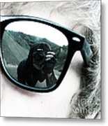 Reflect This Metal Print