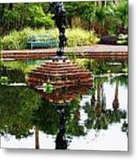 Reflected Archer  Metal Print