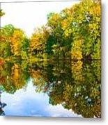 Reflected Autumn Glory Metal Print