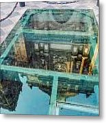 Reflected Cathedral Metal Print