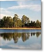 Reflected Clouds Metal Print