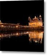 Reflected Golden Temple Metal Print