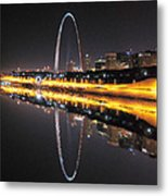 Reflected St. Louis Metal Print