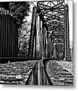 Reflected Strength Metal Print