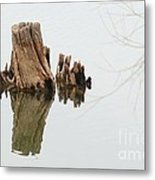 Reflecting Back To Once Was Metal Print