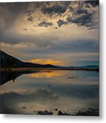 Reflecting Metal Print
