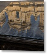 Reflecting On Noto And The Beautiful Sicilian Baroque Style Metal Print