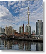 Reflecting On Toronto And Harbourfront  Metal Print