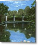 Reflecting Pool Metal Print