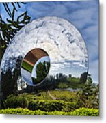 Reflecting The Countryside Metal Print