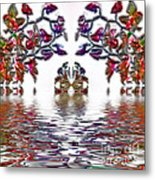 Reflecting Tranquility Metal Print