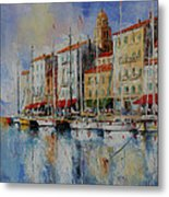 Reflection  -  St.tropez - France Metal Print