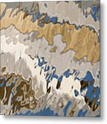 Reflection Abstraction- Two Metal Print