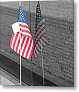 Reflection At The Wall I Metal Print