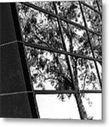 Mirror Image Palm Springs Metal Print