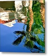 Reflection Gabezo And Trees 29478 Metal Print