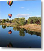 Reflection In Prosser Metal Print