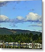 Reflection In The Lake Metal Print