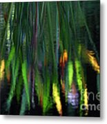 Reflection In The Pond Metal Print
