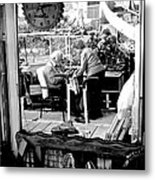 Reflection Into The Future - Retired In My Haven Metal Print