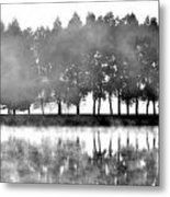 Reflection Metal Print by Janet Moss