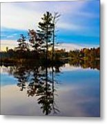 Reflection Metal Print by Michelle and John Ressler