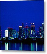 Reflection Of Dallas Metal Print