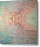 Reflection Of Turquoise Skies Metal Print by Holly Martin