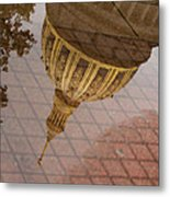 reflection of WV Metal Print