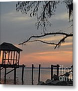Reflection On Lake Metal Print