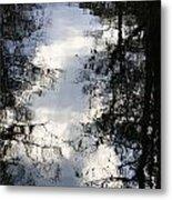 Reflection On Sweet Water Strand Metal Print