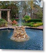 Reflection Pond At Ravine Gardens State Park Metal Print