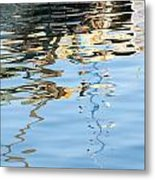 Reflections - White Metal Print