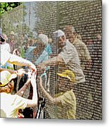 Reflections And Rememberance Metal Print