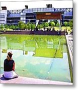 Reflections Metal Print by Audreen Gieger-Hawkins