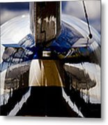Reflections From The Back Metal Print