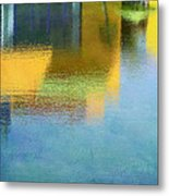 Reflections In Abstract Metal Print