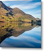 Reflections In Buttermere Uk Metal Print