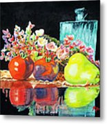 Reflections In Color Metal Print