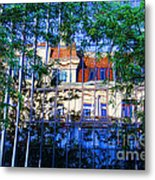 Reflections In The City Metal Print