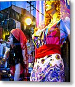 Reflections In The Life Of A Mannequin Metal Print