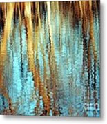 Reflections In Water Metal Print