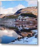 Reflections In Winter Metal Print