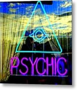 Reflections Of A Psychic Metal Print